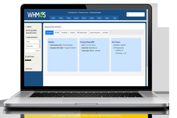 MedanSMS WHMCS